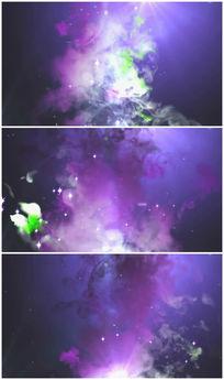 紫色烟雾视频素材