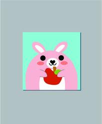拿苹果的小兔子 AI