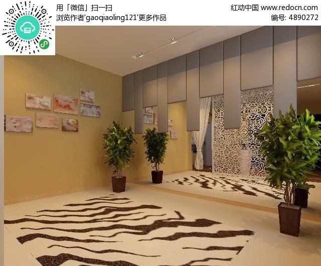 室内装修造型墙面设计模型图片