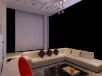 墙面装饰柜设计施工幻想_3D图纸/3D素材图片神域图纸赛顿模型波图片