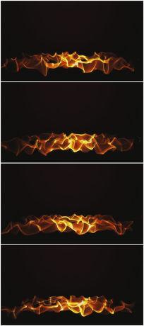 炙热火焰视频素材