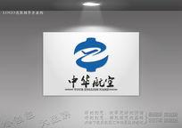 中字航空logo源文件下载