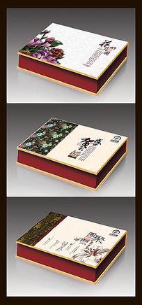 中国风大气月饼包装盒模板
