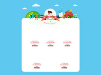可爱卡通淘宝首页详情页产品展示ps分层