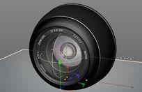 摄像头C4D模型