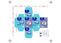 田田牛奶包装设计