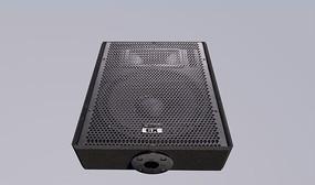 舞台音箱C4D模型