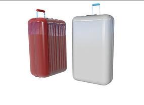 行李箱C4D模型