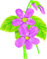 手绘花朵百搭