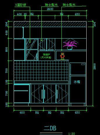 现代党徽立面图_CAD厨房图片素材图纸cad下载图片