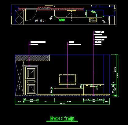 现代图片电视墙立面v图片图纸_CAD客厅弧形素计算图纸尺寸带图纸如何图片