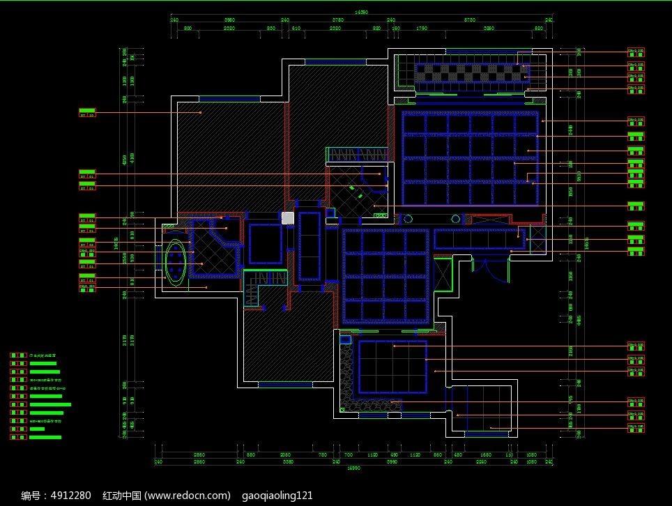 素材描述:红动网提供室内装修精品原创素材下载,您当前访问作品主题是地面施工设计图纸,编号是4912280,文件格式是CAD,请使用AutoCAD 2017及以上版本打开文件,您下载的是一个压缩包文件,请解压后再使用设计软件打开,色彩模式是RGB,,素材大小 是98.01 KB。
