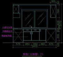 人造石台面厨房设计图纸