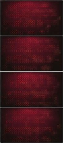 闪烁同心圆动态大气红色背景视频素材
