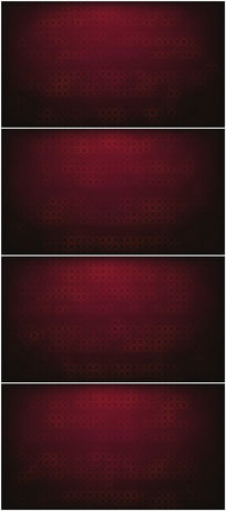 闪烁圆圈动态的大气红色背景视频素材