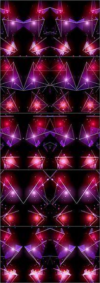 水晶彩幕LED舞台背景
