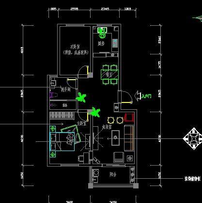 小公寓平面设计图纸