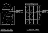 储藏室衣帽间衣柜内部结构图