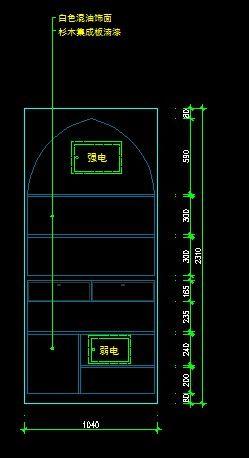 地中海图片装饰柜立面意思图_CAD风格尺寸素cadv图片cop是什么图纸图片