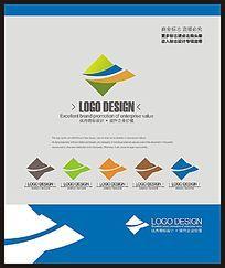儿童教育培训现代时尚标志设计 CDR
