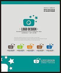 儿童摄影拍摄标志设计