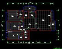 法式风格家装地面布置图 CAD