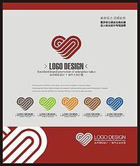 婚礼策划婚庆礼品公司企业标志设计