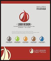 金融理财服务团队标志设计