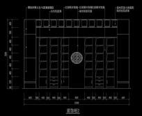 中式造型柜子内部结构图
