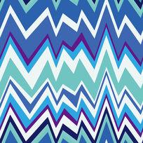蓝白色彩构成纹样