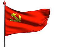 动态党旗带通道Tga序列