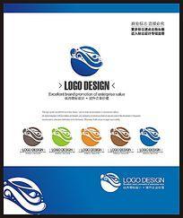 海鲜美食餐饮标志设计 CDR