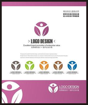 女性美容纤体中心标志设计