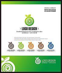 水果鲜榨饮品创意标志设计