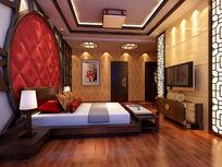 豪华欧式3D卧室