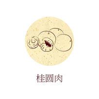 水果插画桂圆肉