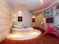 现代简易儿童房卧室