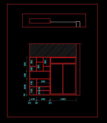 柜子  内部结构