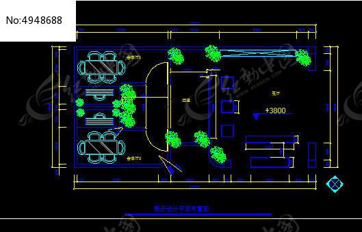 展示设计钢材布置图_CAD强度图片素材v钢材平面值图纸图片