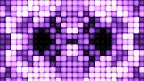 紫色超亮丽LED光矩阵放射的视频素材
