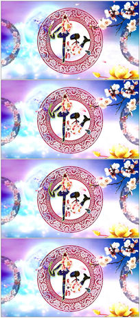 中秋佳节庆八月十五月亮视频素材