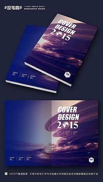 大气科技展画册封面设计