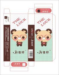 韩国可爱插画小熊笔盒设计