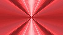 红色炫光线条不断中放射的视频素材