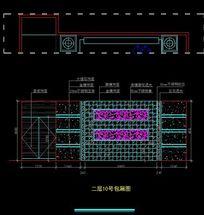 皇家贵族酒吧KTV二层10号大包间立面图