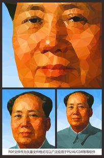 毛泽东晶格画