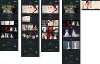 婚纱网站设计 AI