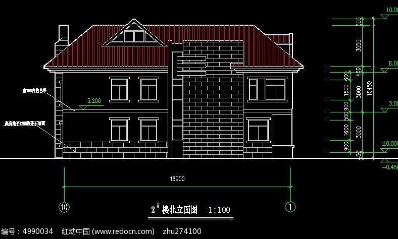 外观建筑规划立面图