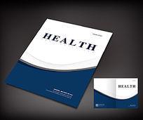 大气简洁企业画册封面模板