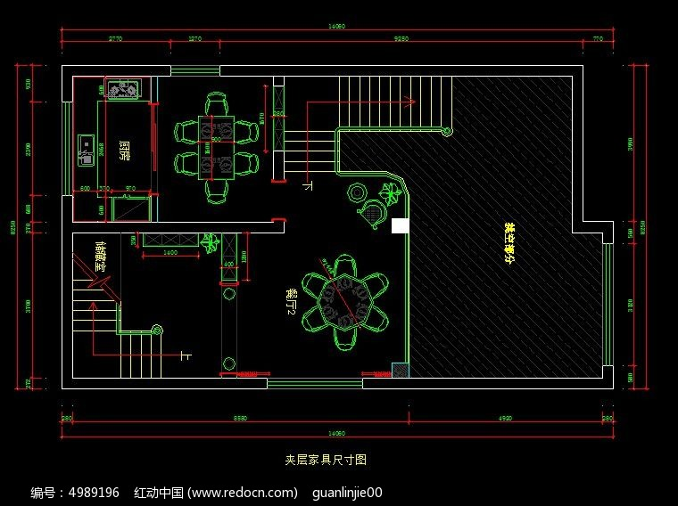 别墅风格自建家具图纸夹层尺寸图_CAD都市图cad连续才能复制中怎么图片